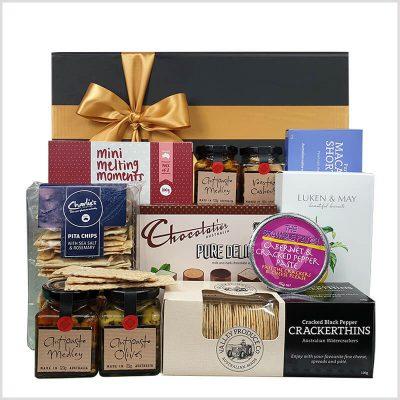 gourmet deluxe gift box