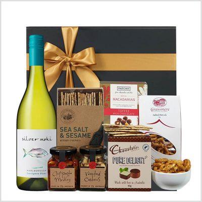 white delight gift box