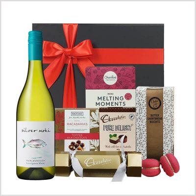 Christmas White Wine Gift Hamper
